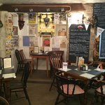 inside the old stables tearooms