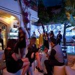 Il giardino del Morgana Lounge Bar