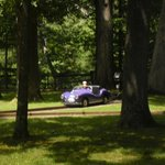 The purple car that our grandson loved.