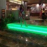 Foto tomada en el lobby del hotel