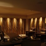 Automatic curtains in junior suite