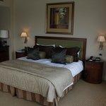 Bed in junior suite