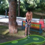 mini golf alanı