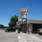 Exterior view of Eel River Cafe