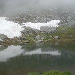 Snow at Balea Lake, 20 June 2014