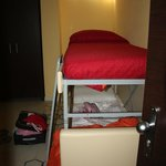 Bunk bed in triple room