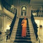 staircase Hotel Maria Cristina
