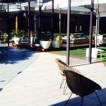 Alfresco by the pool