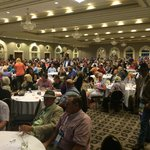 Massive room for conventions.  1200 auctioneers in this photo.