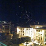 View from Rooftop terrace- Wish lanterns