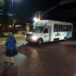 Free shuttle to/from Old Wichita