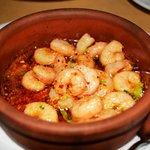 To die for garlic shrimp!