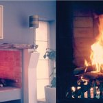 Enjoy the warmth of the crackling fire this chilly season