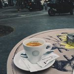 coffee at this place
