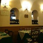 Salão do restaurante
