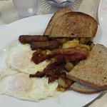 The 2x2x2x2 breakfast