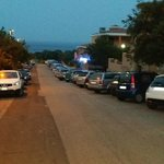 Parcheggio hotel
