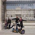 Royal Palace of Madrid, on Segways!