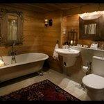 Underground Luxury Bathroom; The Mazot