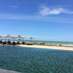 ocean beach just beyond the infinity pool