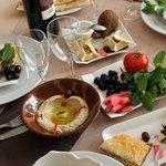 Plat libanais au restaurant Liban à Bordeaux