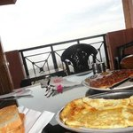 Food with balcony with