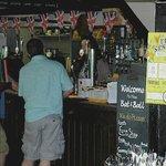 The Bat & Ball bar : small but very friendly
