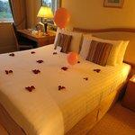 Decorations for honeymooners