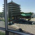 Buddhist Temple from our Room on 5th floor