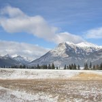 On the road to Banff / Winter