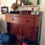 Antique dresser in The Fox and Hound Room