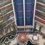 Vista desde el ascensor