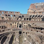 Inside the Colosseum July 2014