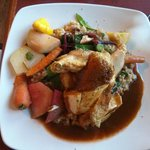 The Chicken Supreme, hearty and a very large serving.