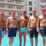 dagelijkse activiteit van de mannen : Waterpolo