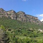 montaña de Bussa desde la casa rural