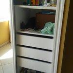 spacious wardrobe