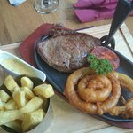 Really tasty steak.. Can recommend!