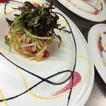 Salade de gambas aux agrumes
