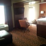 View from entry way of room #303