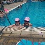 kids in pool loving sweet memories