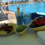 Poolside Food - Chips / Guac