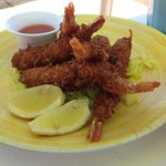 Poolside Food - Coconut Shrimp
