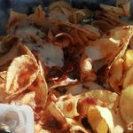 Junior's Crush House Cheese & Bacon Loaded Chips
