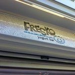 at Fresko, in and out view