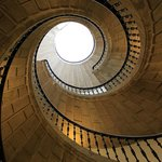 Treppe im inneren des Museums