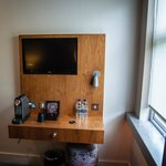 TV shelf (Room 203)
