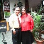 Foto tomada en el Restaurante el Patio del hotel Balmoral