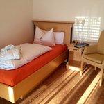 Einzelbett in Zimmer 33