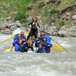 Kasara Batzler on a Half Day Rafting Trip!